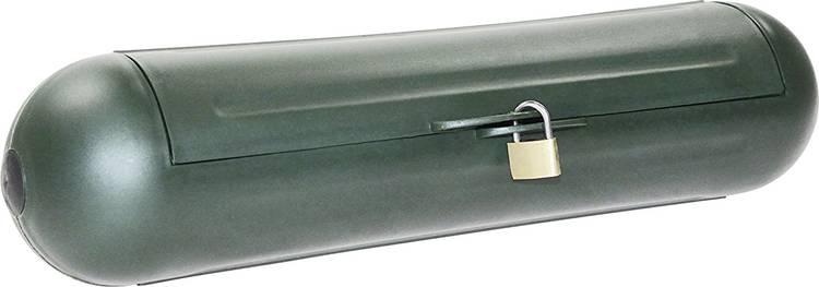 Veiligheidsbox voor CEE-stekker as - Schwabe 48708 48708 (Ø x l) 110 mm x 300 mm