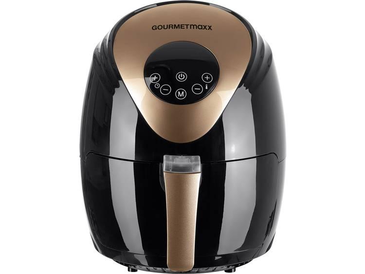 GourmetMaxx 02365 Hetelucht friteuse 1500 W Timerfunctie Zwart