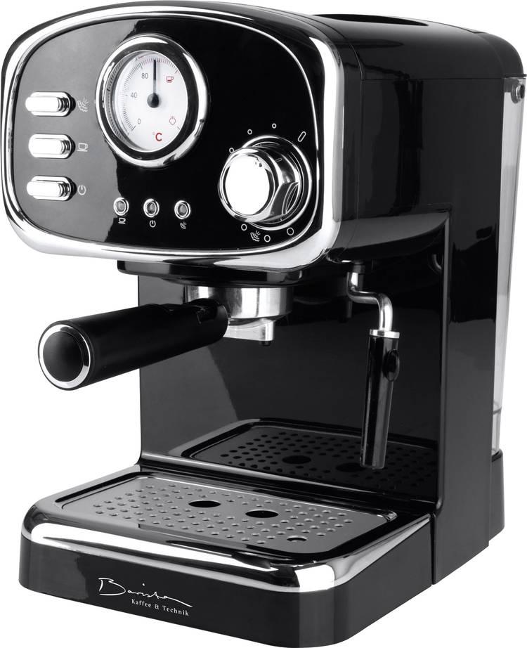 Espressomachine GourmetMaxx Barista Retro Zwart 1100 W
