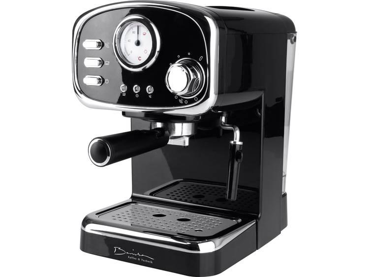 Espressomachine GourmetMaxx Barista Retro Zwart 1100 W - Prijsvergelijk
