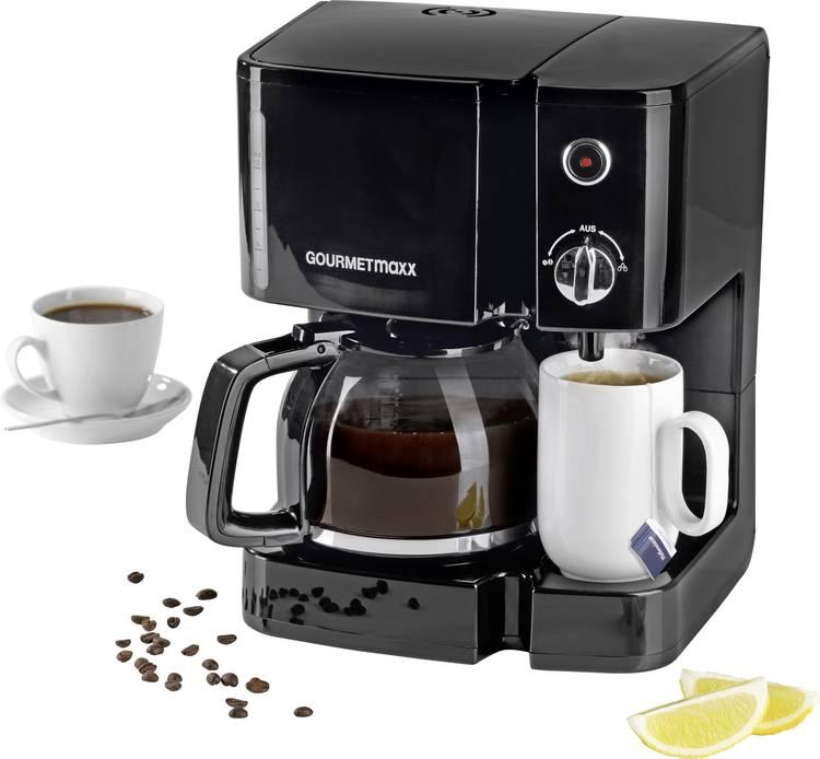 GourmetMaxx 03589 Koffie- theemachine Zwart