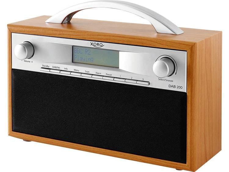 Xoro DAB 200 DAB+ Transistorradio FM Hout