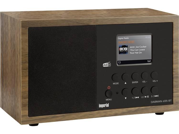 Imperial DABMAN d35 BT Tafelradio DAB+, FM Bluetooth Hout
