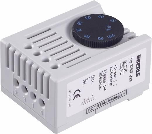 Hygrostaat voor schakelkastverwarming SSHYG Eberle 230 V/AC 1x wisselaar (l x b x h) 46 x 34.5 x 67 mm