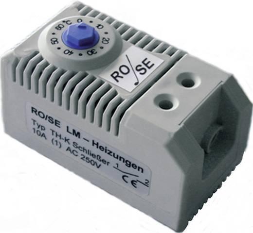 Rose LM TH-K Thermostaat voor schakelkastverwarming 1x NO (l x b x h) 60 x 32 x 43 mm
