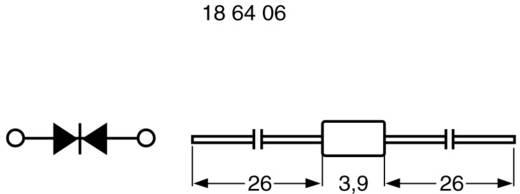 Triggerdiode (DIAC) STMicroelectronics DB3 = D30 = ER900 Soort behuizing DO 3