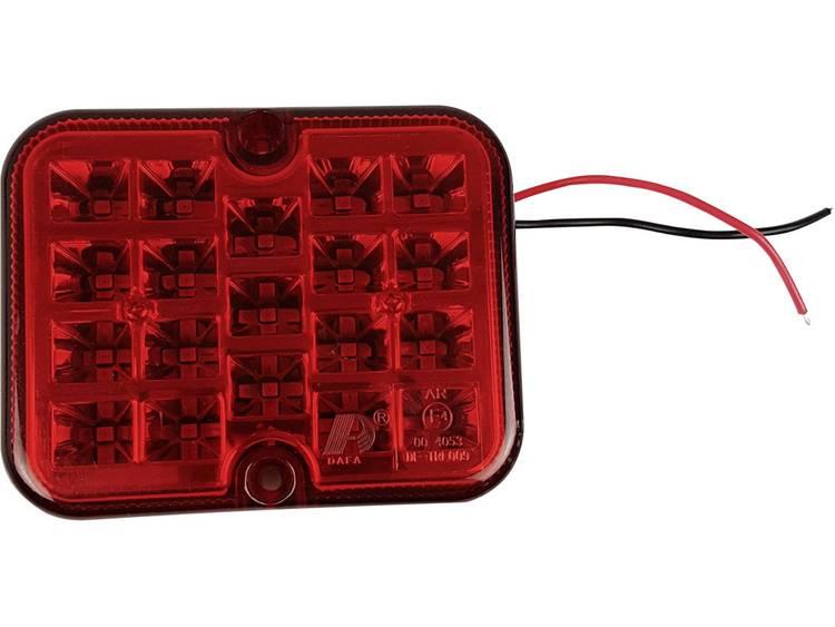 SMD LED Mistlamp Mistachterlicht achter 12 V Rood Berger Schröter