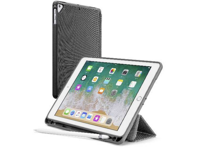 Cellularline Bookcase iPad Cover / hoes Apple iPad 9.7 Zwart