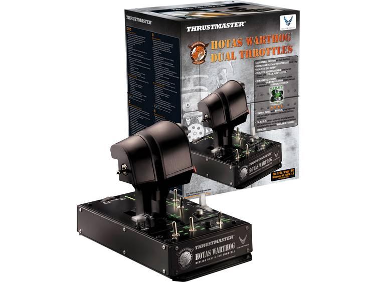 Thrustmaster Hotas Warthog Dual Throttle Vliegsimulator-controller USB PC Zwart