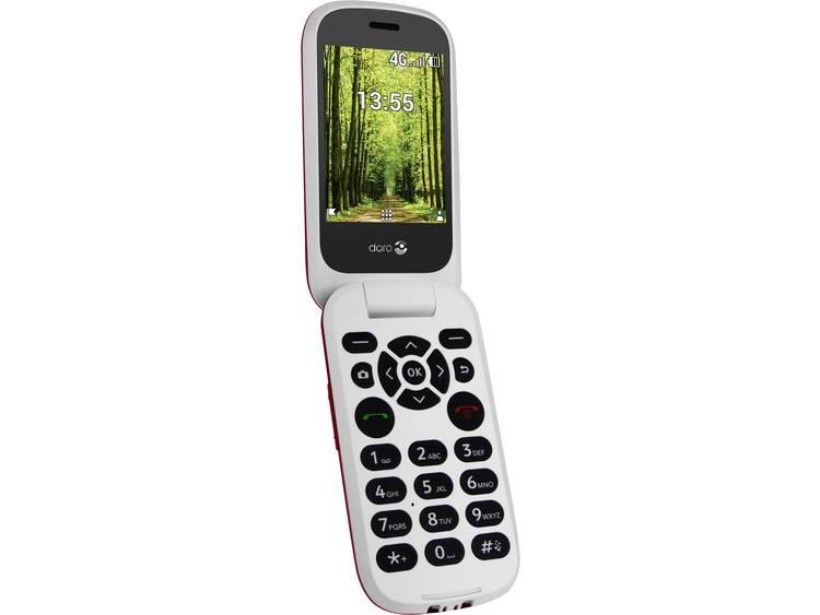 doro DORO 7060 Senioren clamshell telefoon Laadstation, SOS-knop Rood-wit kopen