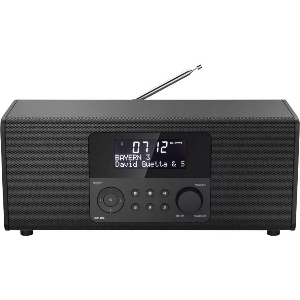 Hama DR1400 Tafelradio DAB+, FM Zwart