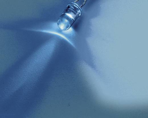 Nichia NSPB300B LED bedraad Blauw Rond 3 mm 8200 mcd 15 ° 20 mA 3.2 V