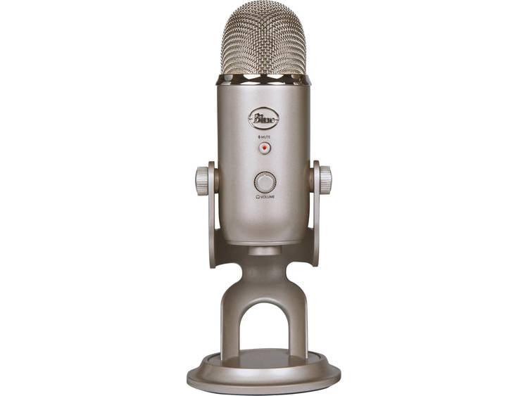 USB-microfoon Blue Microphones Yeti Platina Kabelgebonden Voet