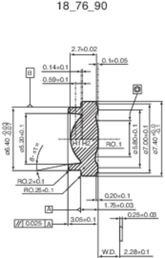 IMM Photonics CAX 183 Collimatorlens (Ø x h) 6.28 mm x 2.44 mm