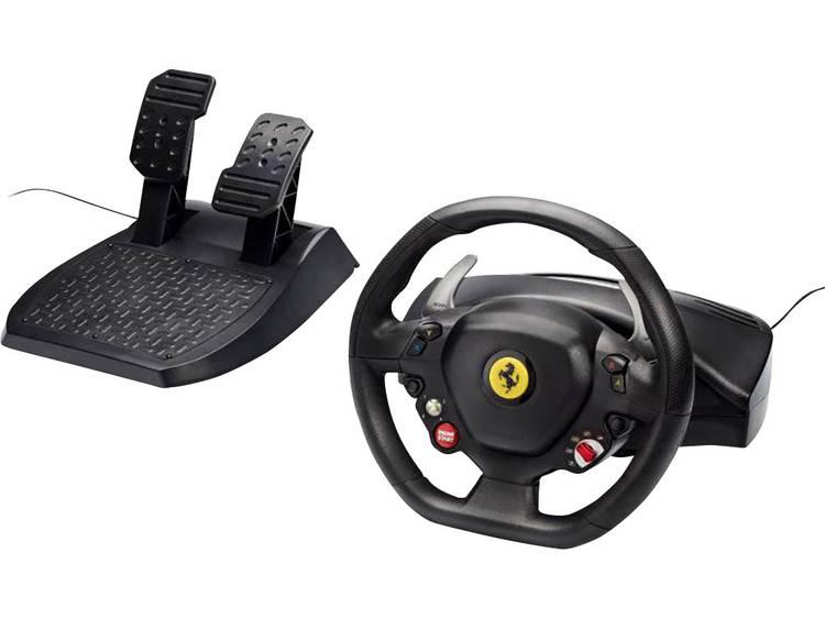 Stuur Thrustmaster Ferrari 458 Italia USB 2.0 PC, Xbox 360 Zwart Incl. pedaal