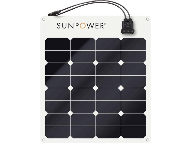 SunPower SPR-E-Flex 50 Monokristallijn zonnepaneel 50 Wp 12 V
