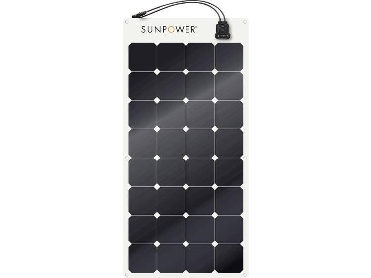 SunPower SPR-E-Flex 110 Monokristallijn zonnepaneel 110 Wp 12 V