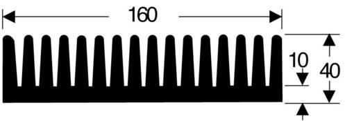 Strengkoellichaam 0.85 K/W (l x b x h) 100 x 160 x 40 mm