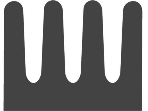 SMD-koellichaam 29 K/W (l x b x h) 13 x 19 x 4.8 mm