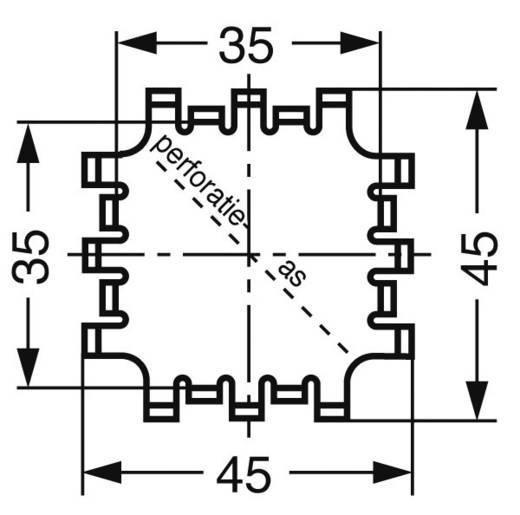 Vingerkoellichamen 6.8 K/W (l x b x h) 42 x 42 x 17 mm