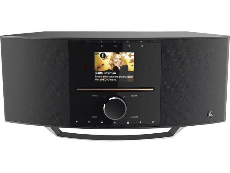 Hama DIR3505MSCBT Tafelradio met internetradio DAB+, FM AUX, Bluetooth, CD, LAN,