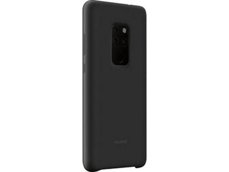 Huawei Mate 20 Silicon Case Zwart voor Mate 20