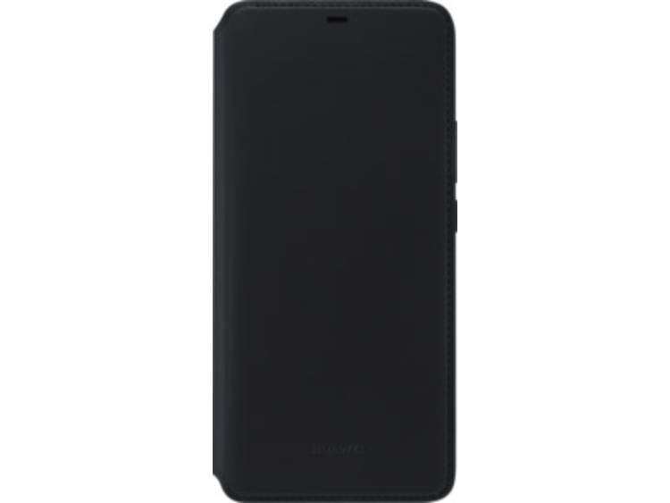 HUAWEI Wallet Cover GSM flip cover Geschikt voor model (GSMs): Huawei Mate 20 Pro Zwart
