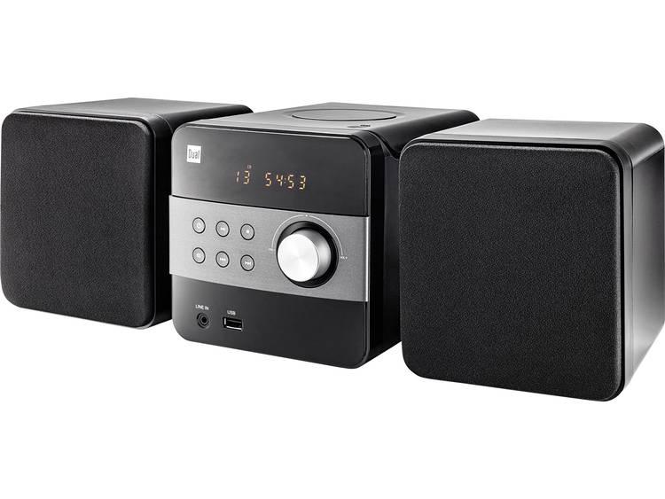 Dual ML 12 Stereoset AUX, CD, USB, FM 2 x 2.5 W Zwart
