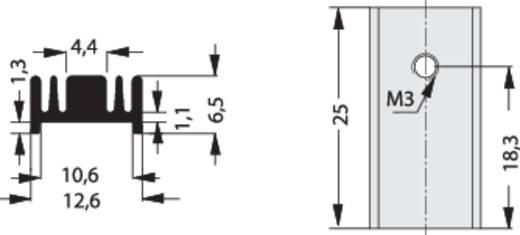Koellichaam 40 K/W (l x b x h) 25 x 12.6 x 6.5 mm T