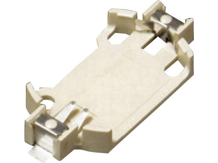 Takachi SMTU2430 Knoopcelhouder 1 CR2430 Horizontaal, Oppervlakte montage SMD (l x b x h) 36.5 x 16.1 x 4.9 mm