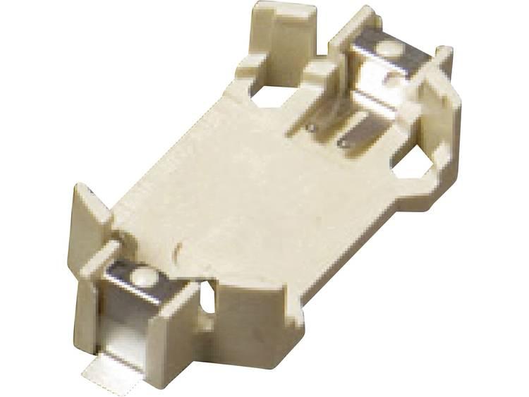 Takachi SMTU2450 Knoopcelhouder 1 CR2450 Horizontaal, Oppervlakte montage SMD (l x b x h) 36.5 x 16.1 x 7.5 mm