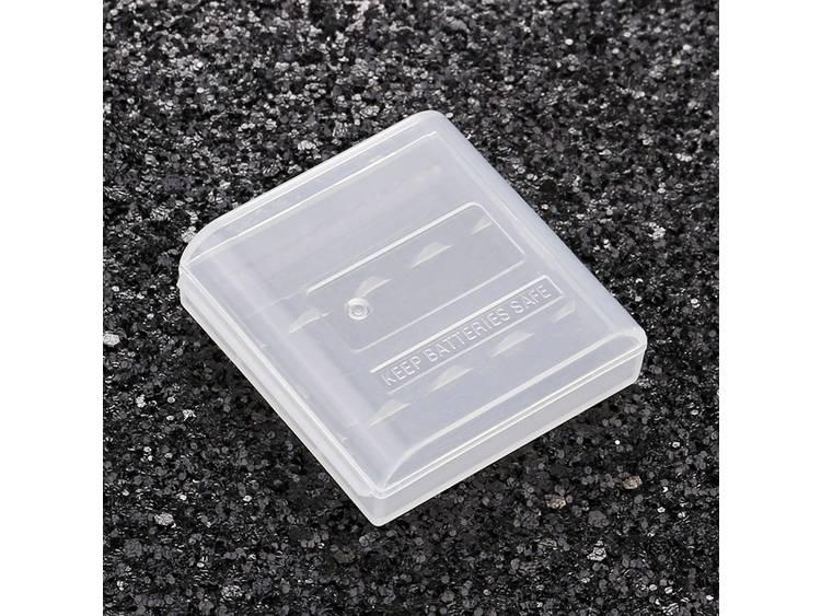 Soshine SBC-003 Batterijbox Aantal cellen: 4 AAA (potlood), 10440 (l x b x h) 49.5 x 48.2 x 14.8 mm