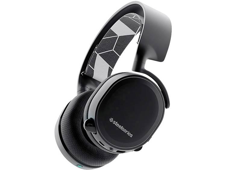 Steelseries Arctis 3 7.1 Bluetooth® Gaming headset Bluetooth, 3.5 mm jackplug Stereo, Draadloos, Kabelgebonden Over Ear Zwart