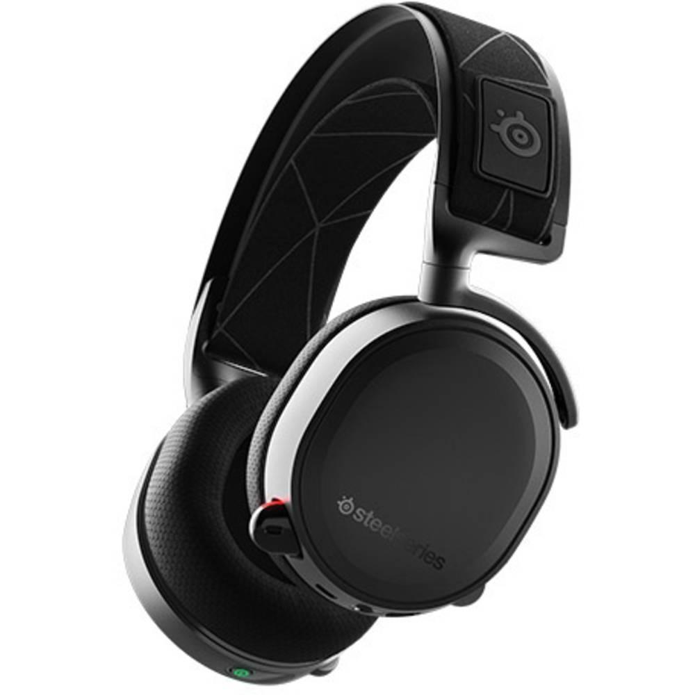 Steelseries Arctis 7 Gaming headset USB, 3.5 mm jackplug Stereo, Draadloos, Kabelgebonden Over Ear Zwart