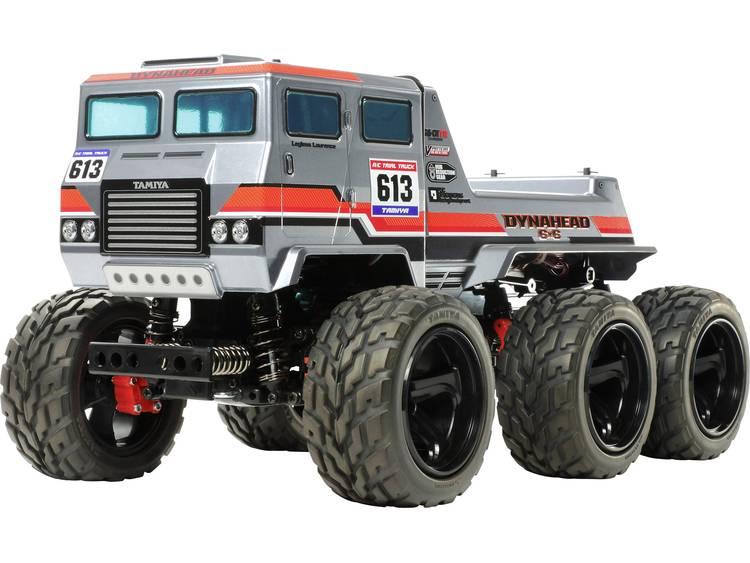 Image of Tamiya Dynahead 6x6 1:18 Brushed RC auto Elektro Monstertruck 4WD Bouwpakket