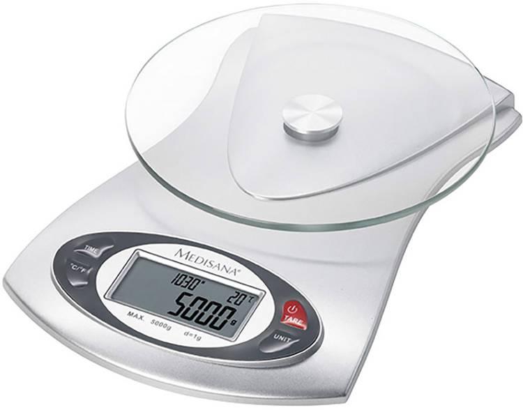 Keukenweegschaal Digitaal Medisana KS 220 Zilver