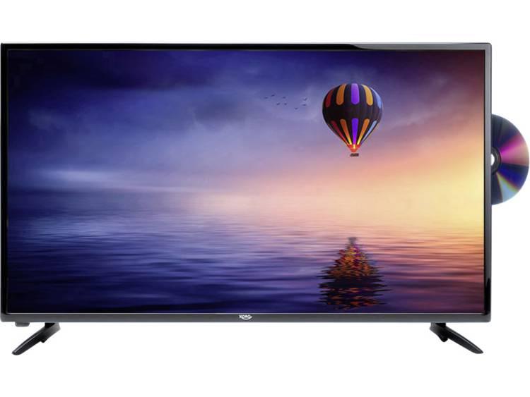 Xoro HTC 2446 LED-TV 59.9 cm 23.6 inch Energielabel: A (A++ – E) DVB-T2, DVB-C, DVB-S, HD ready, DVD-speler, PVR ready Zwart