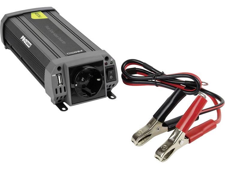 ProUser Sinus PSI400 Omvormer 400 W 12 V-DC 230 V-AC, 5 V-DC