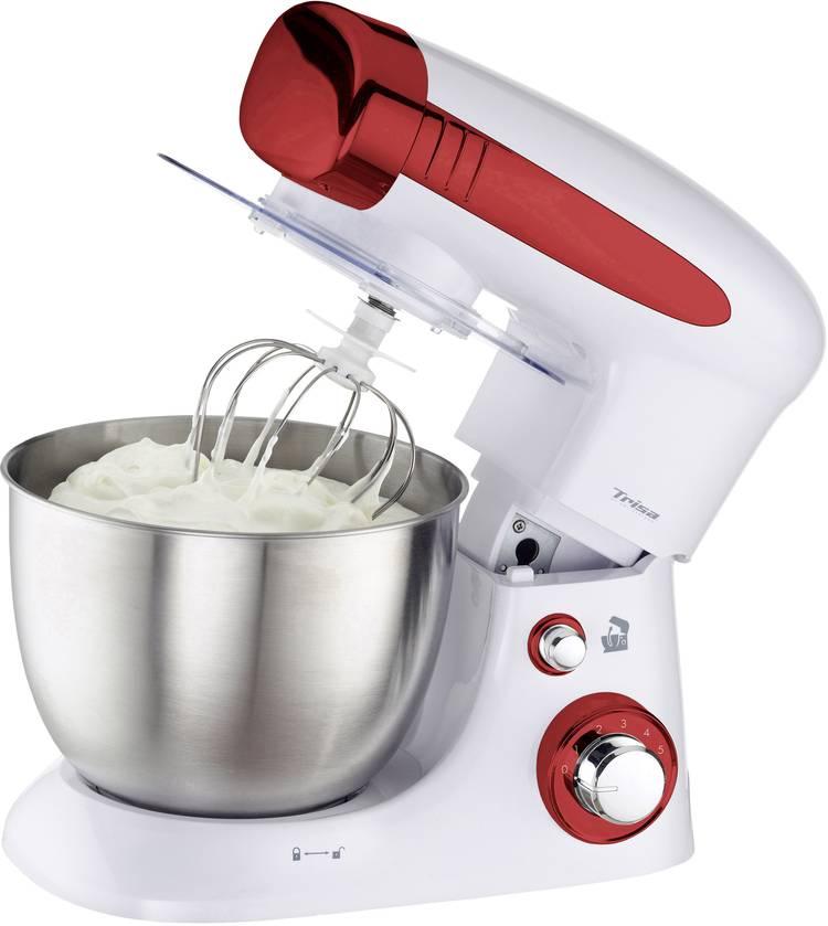 Trisa Mix Chef Kneedmachine 800 W Wit. Rood