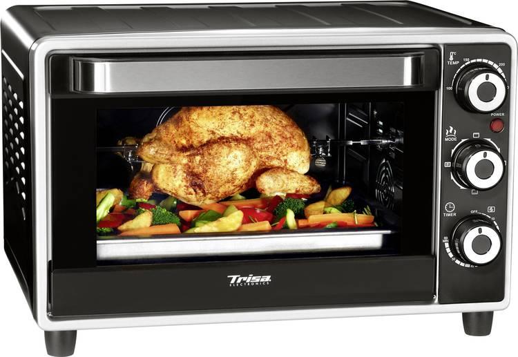 Trisa Forno Gusto Mini-oven met grillspies 23 l