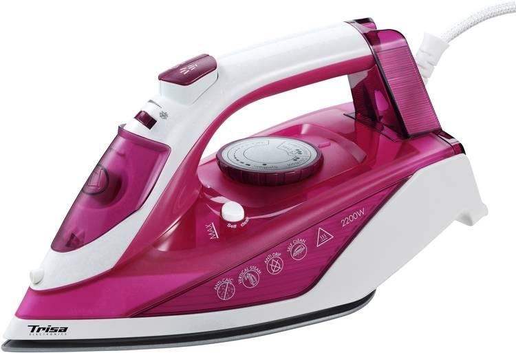 Trisa Comfort Steam i5777 Stoomstrijkijzer Roze 2200 W