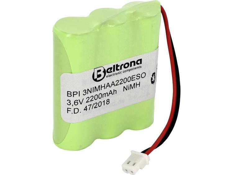 Beltrona Solarleuchten-Pack 901013 Accupack NiMH 3.6 V 2000 mAh AA (penlite) Stekker