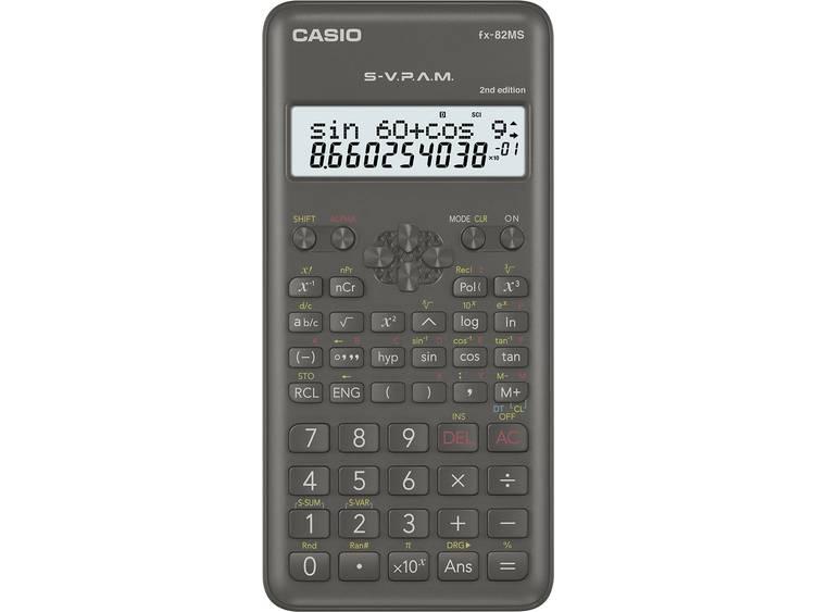 Schoolrekenmachine Casio FX 82MS 2nd Edition Zwart Aantal displayposities 12 we