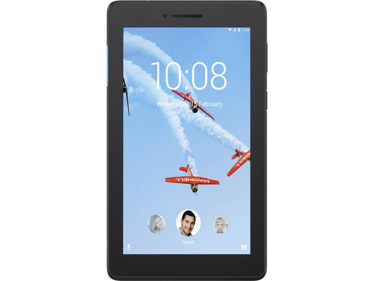 Lenovo Tab E7 Android-tablet 17.8 cm (7 inch) 8 GB Zwart 1.3 GHz Quad Core Android 8.0 Oreo 1024 x 600 pix