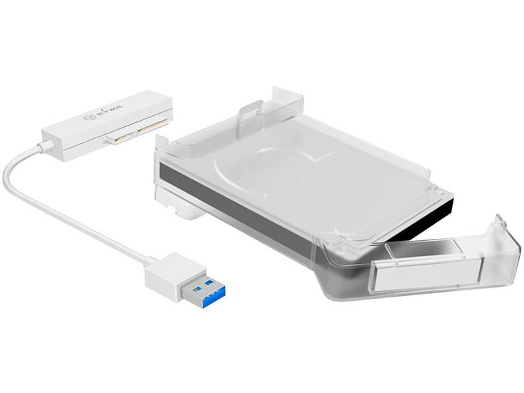 ICY BOX Adapter Kabel IcyBox 6,3cm SATAI-III SSD -> USB 3.0 9,5mm (60002)