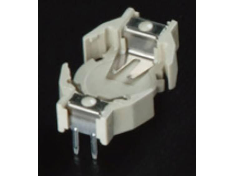 Takachi HU357 Knoopcelhouder 1 357, LR44 Horizontaal, Doorsteekmontage THT (l x b x h) 19.9 x 12 x 7.4 mm
