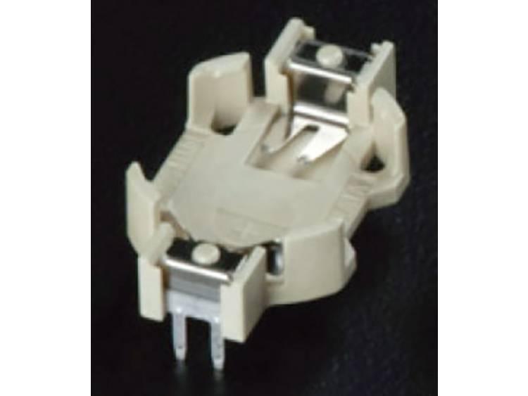 Takachi HU1225 Knoopcelhouder 1 CR1225 Horizontaal, Doorsteekmontage THT (l x b x h) 20.3 x 12.7 x 4.5 mm