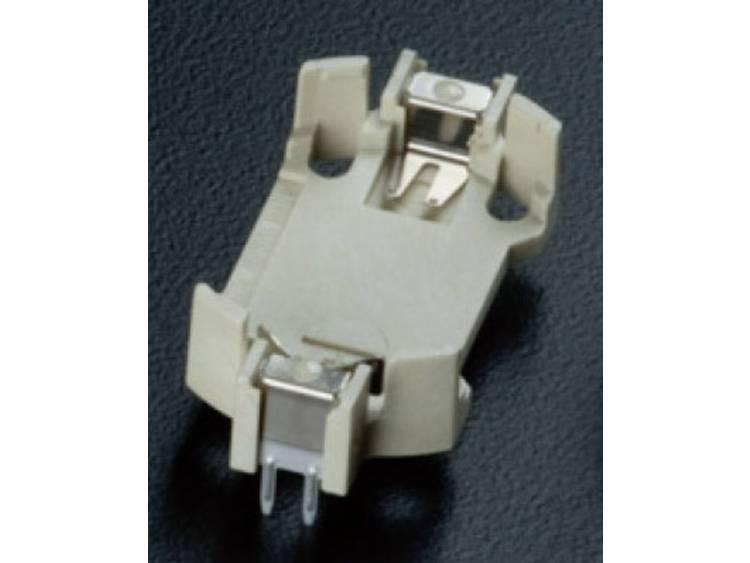Takachi HU2430 Knoopcelhouder 1 CR2430 Horizontaal, Doorsteekmontage THT (l x b x h) 33 x 16.1 x 4.7 mm