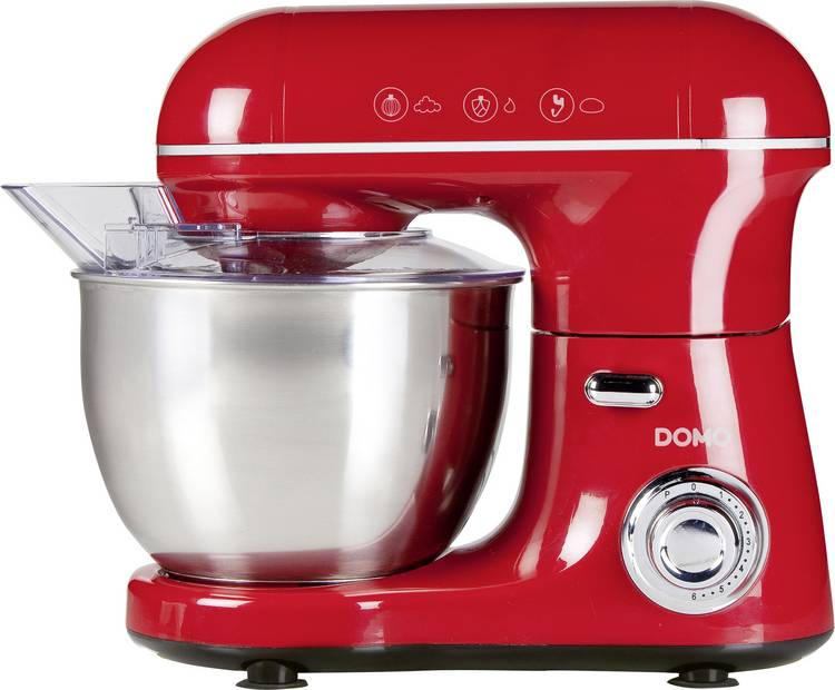 DOMO DO9116KR Foodprocessor 600 W Rood