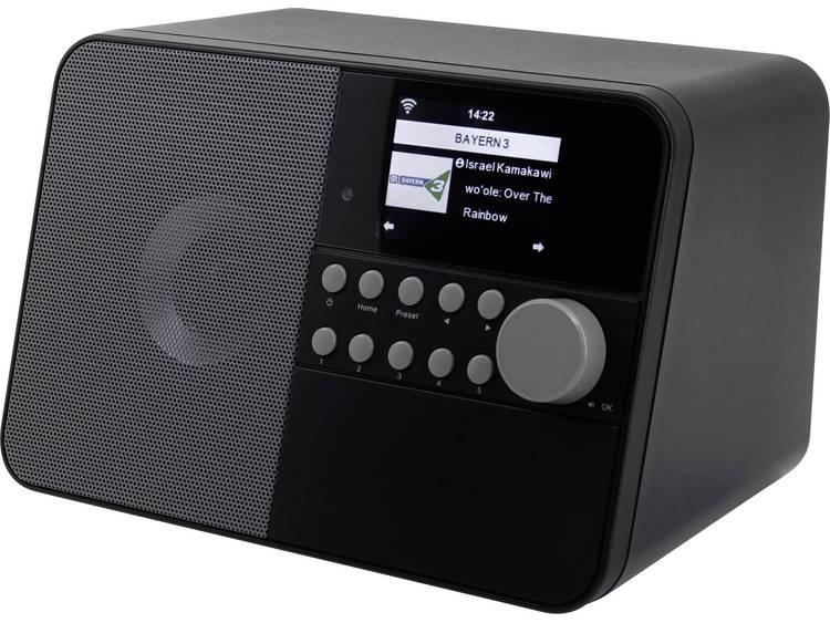 soundmaster IR6000SW Tafelradio met internetradio AUX, WiFi, Internetradio Zwart